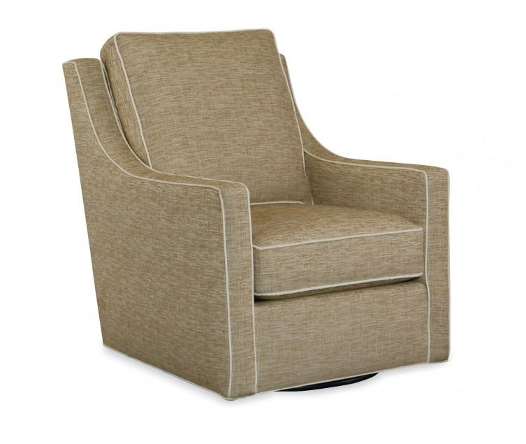 Harper Swivel Chair Coastal Chic Home Furnishings