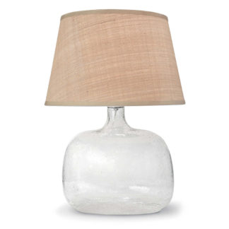 Seeded Glass Lamp