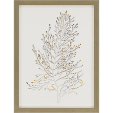 Gold Foil Algae IV