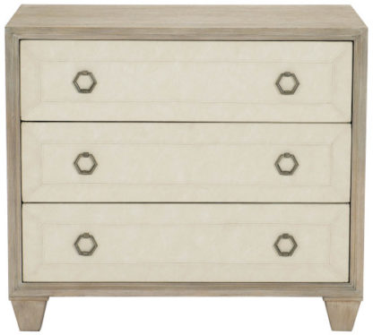 Fabric Front Nightstand