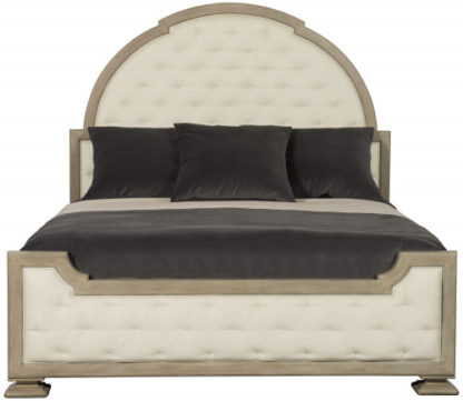 Upholstered Tufted Bed