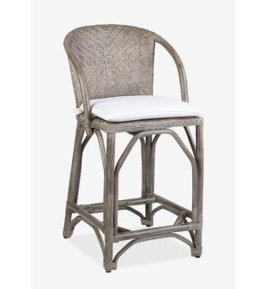 Maples Counter Stool Vintage Grey