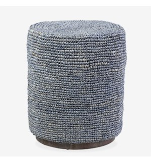Surfside Round Ottoman Table Grey