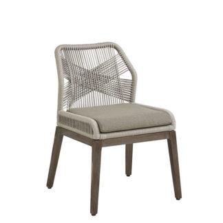 Gray Fiddler Chair