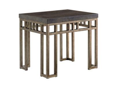 Montera Travertine End Table