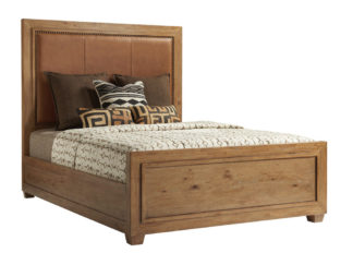 Antilles Upholstered Panel Bed 5/0 Queen