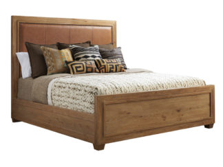 Antilles Upholstered Panel Bed 6/6 King
