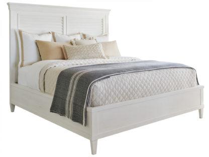 Royal Palm Louvered Bed 6/6 King