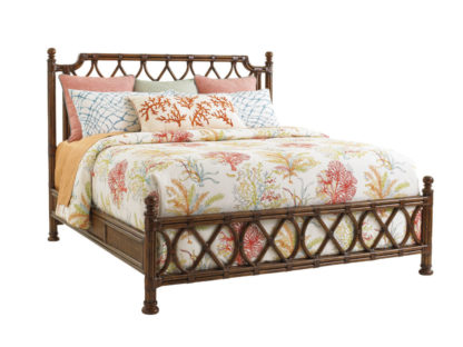 Island Breeze Rattan Bed 6/6 King