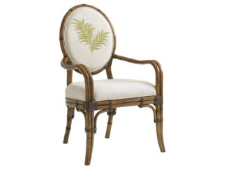 Gulfstream Oval Back Arm Chair