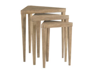 Cupertino Triangular Nesting Tables