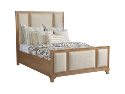Crystal Cove Upholstered Panel Bed 5/0 Queen