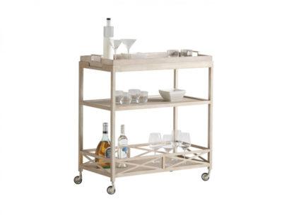 Anacapa Metal Bar Cart