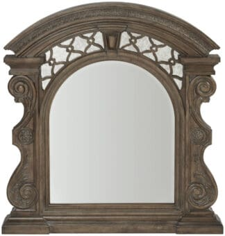Vintage Salvage - Bentley Carved Mirror