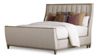 Cityscapes - 5/0 Chelsea Uph Shelter Sleigh Bed