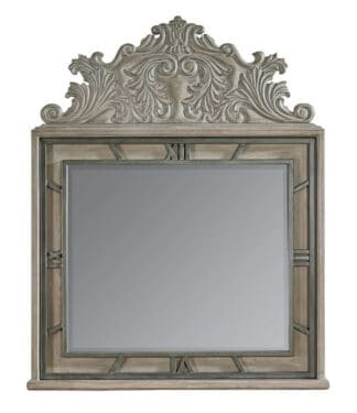 Arch Salvage - Benjamin Mirror - Parch