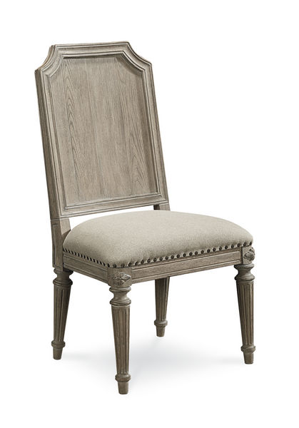 Arch Salvage - Mills Side Chair - Parch