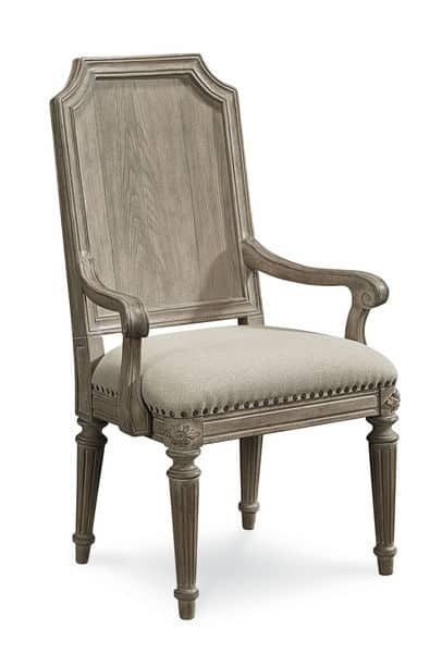 Arch Salvage - Mills Arm Chair - Parch