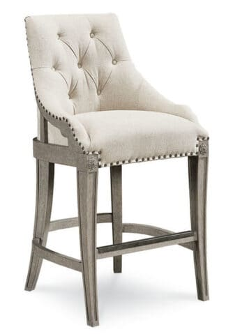 Arch Salvage - Reeves Bar Chair - Mist
