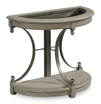Arch Salvage - Drew End Table - Mist