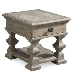 Arch Salvage - Sloane End Table - Parch