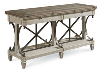 Arch Salvage - Vaux Sofa Table - Cirrus