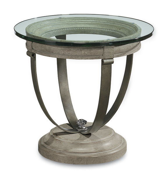 Arch Salvage - Moss Lamp Table - Mist