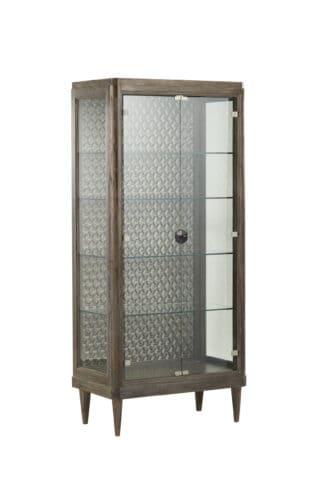 Geode - Agate Curio Cabinet