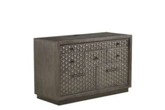 Geode - Tourmaline File/Entertainment Credenza