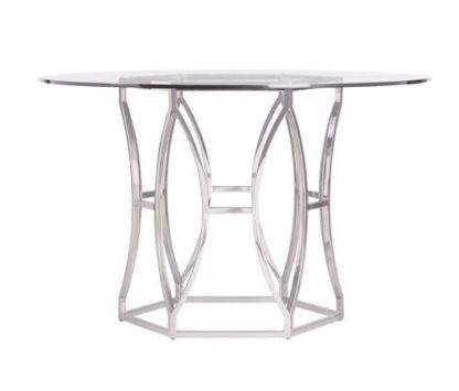"Argent Rectangular Dining Table (100"")"