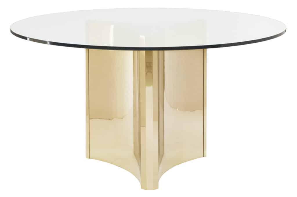 Abbott Metal Pedestal Table Base