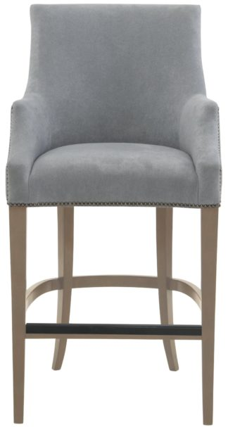 Keeley Bar Stool (Smoke finish)