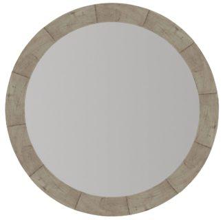 Piper Round Mirror (Morel finish)
