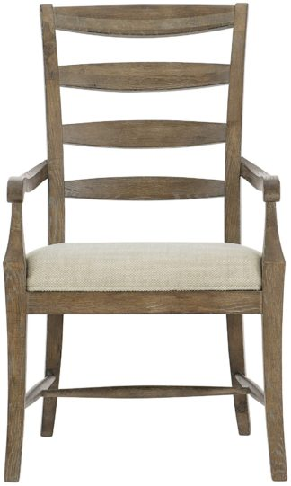 Ladderback Arm Chair (Peppercorn finish)