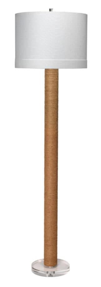 Cylinder Jute Floor Lamp
