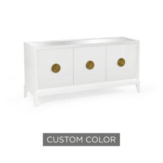 Custom Beveled Sideboard